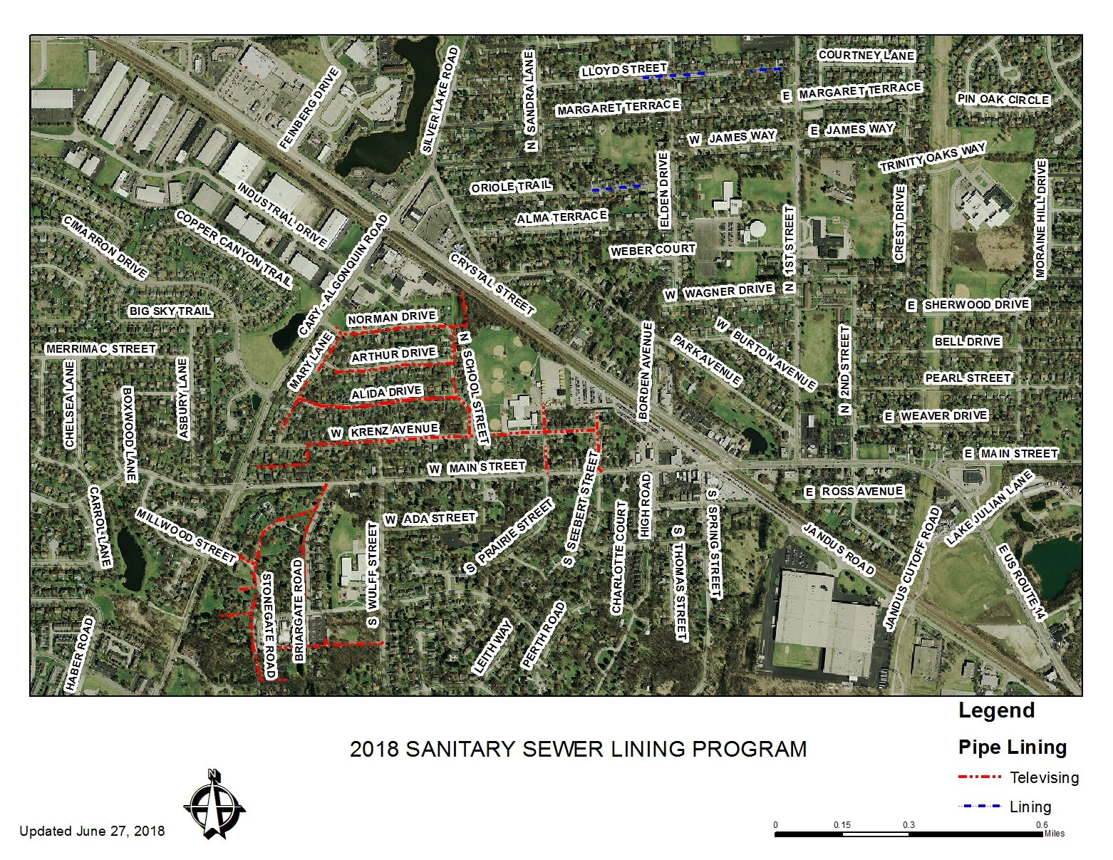 Cary Sanitary Sewer Lining